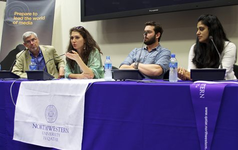 Pulitzer Journalists share their experiences with NU-Q Community