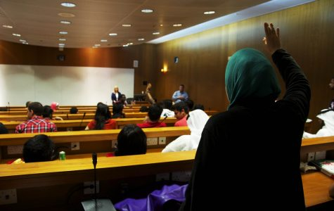 Students at TAMUQ share opposing views regarding new campus in Israel