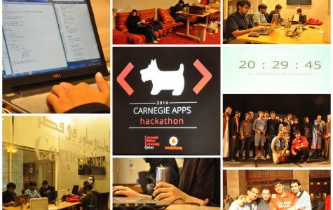 CMU-Q Hackathon Participants Race to Develop App in 24 Hours