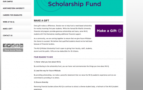 NU-Q Launches New Scholarship Fund