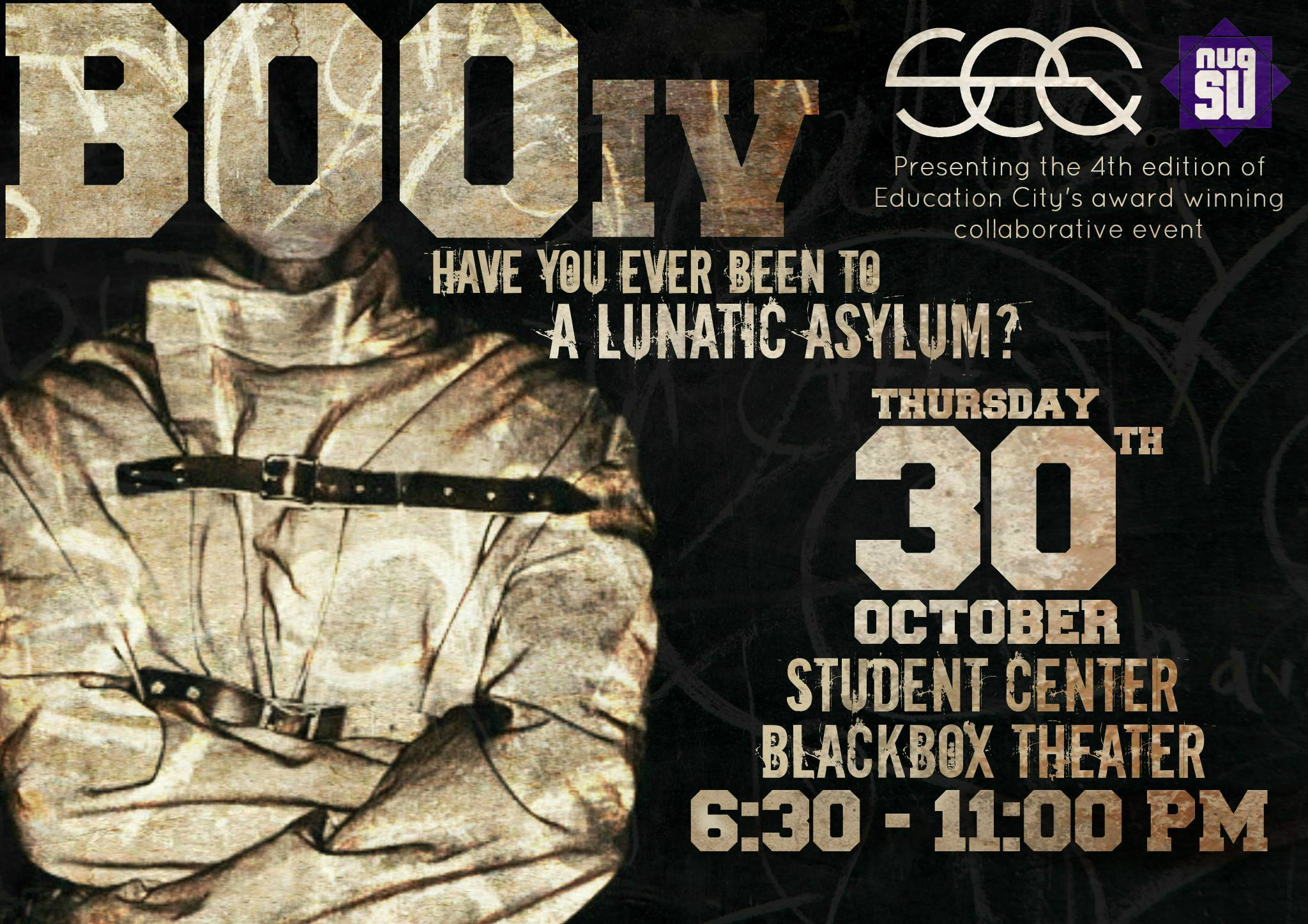 BOO IV Poster - October 2014