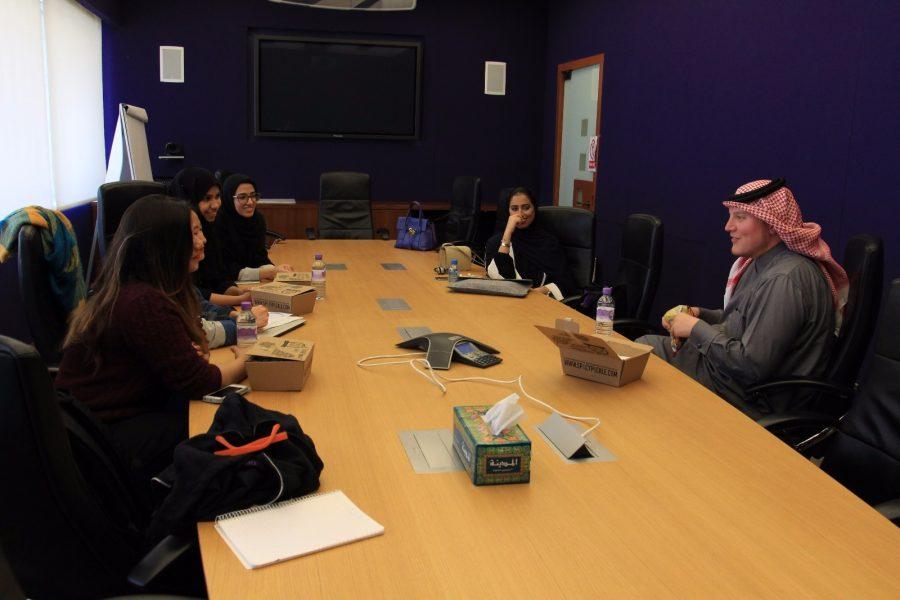 Abu Muteb Visits NU-Q Discusses Plans For His Future