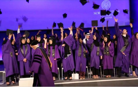 Northwestern University in Qatar Class of 2016 graduation