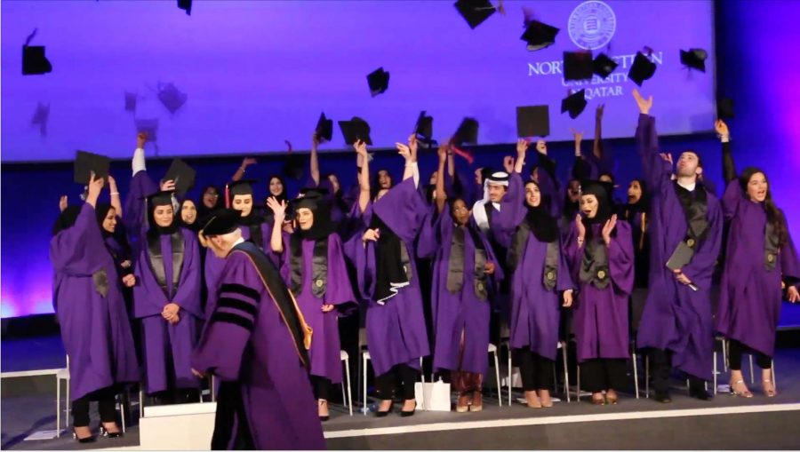 Northwestern University in Qatar Class of 2016 graduation