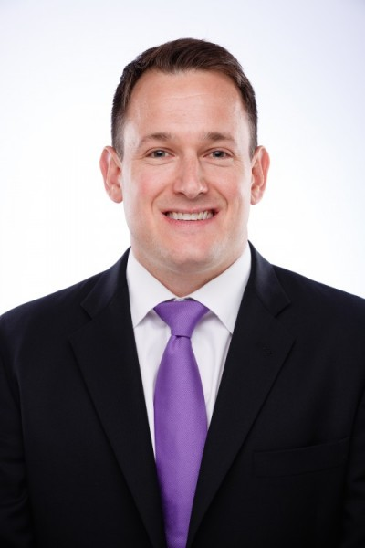 Alex Schultes, the newly appointed director of admissions at Northwestern University in Qatar.