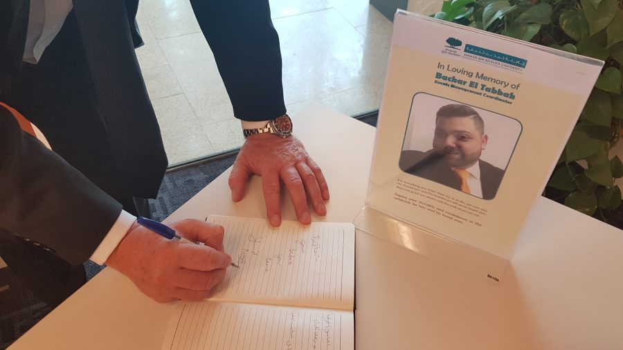 Education City community comes together to remember Bachar El Tabbah