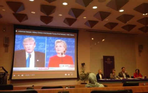 NU-Q hosts panel on US Presidential Debate
