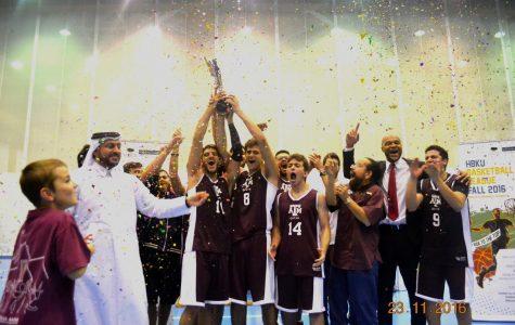TAMUQ and HBKU win Basketball League 2016