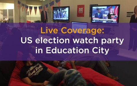 Live: Education City watches 2016 U.S. election results