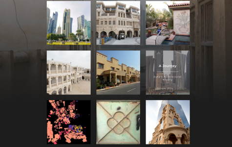 Student multimedia website explores patterns of Qatar's architectural evolution