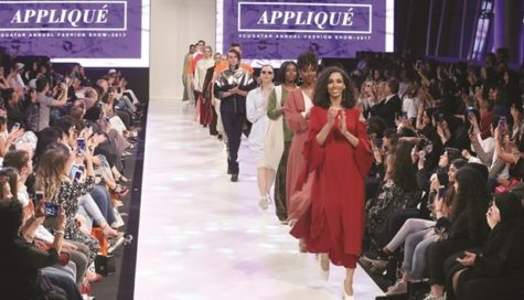 Fashion design students showcase work at VCUQatar's annual fashion show