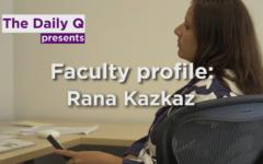 Faculty profile: Rana Kazkaz, Syrian-American award-winning filmmaker