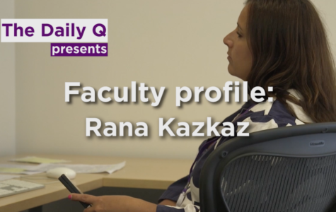 Faculty profile: Rana Kazkaz, Syrian-American award-winning filmmaker