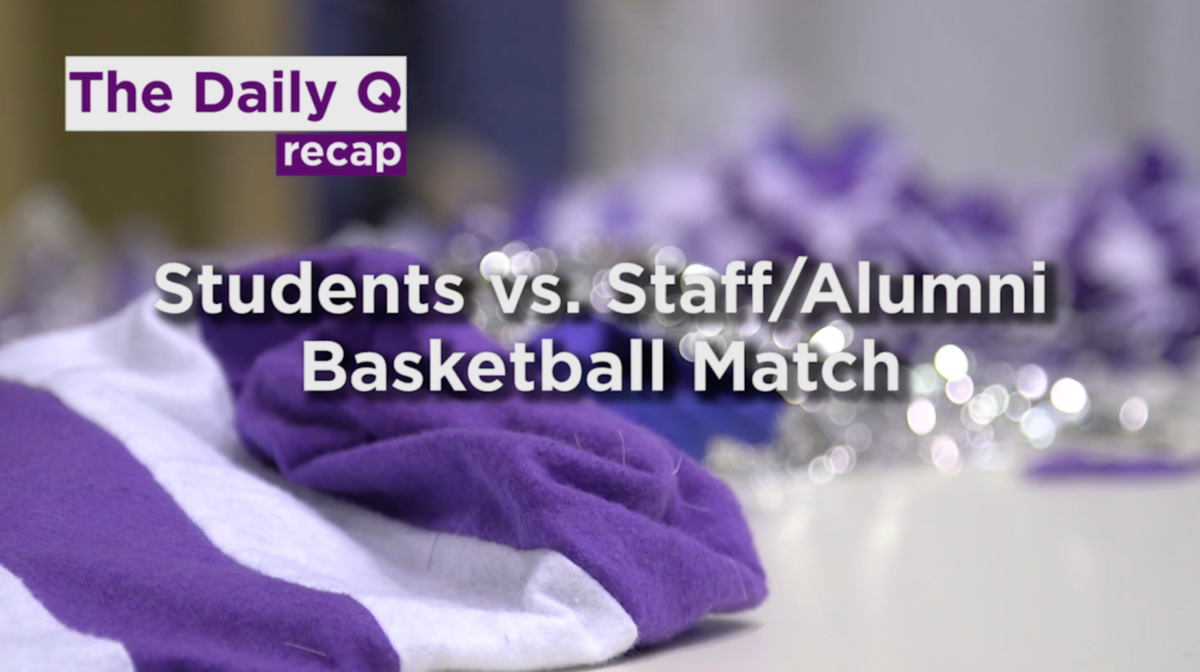 NU-Q basketball game: Students vs. alumni, faculty, and staff