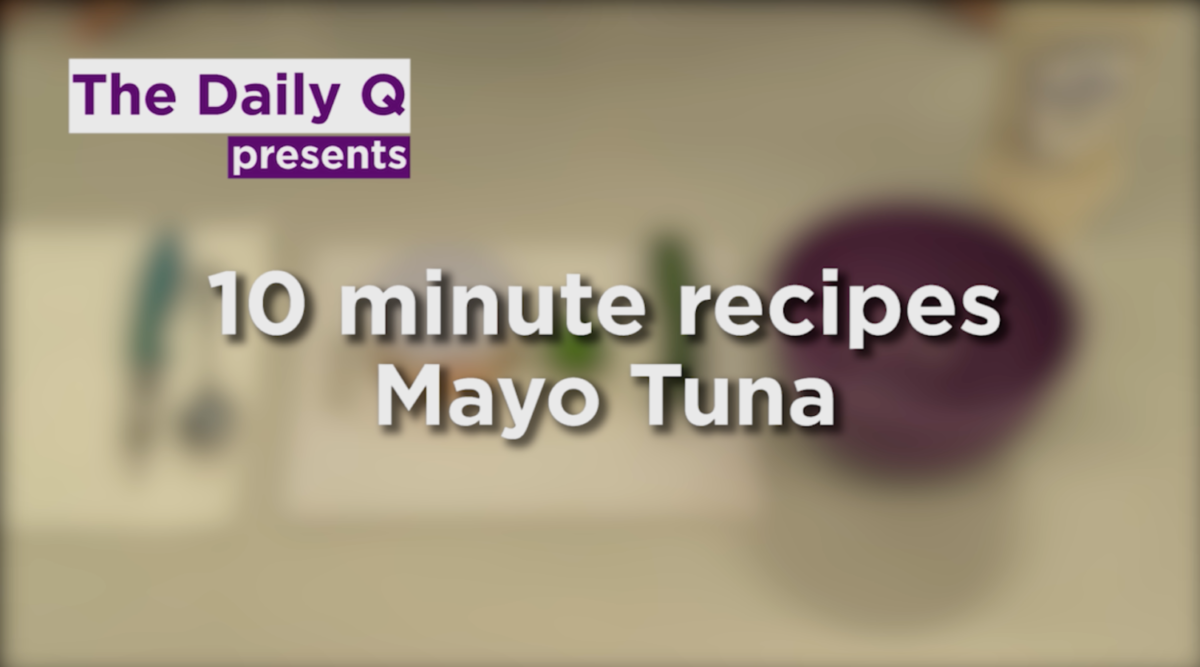 Quick recipe: Mayo tuna