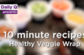 Quick Recipe: Healthy veggie wrap