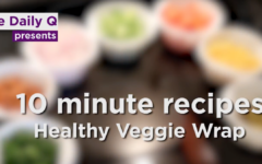 Quick Recipe: Healthy veggie wrap