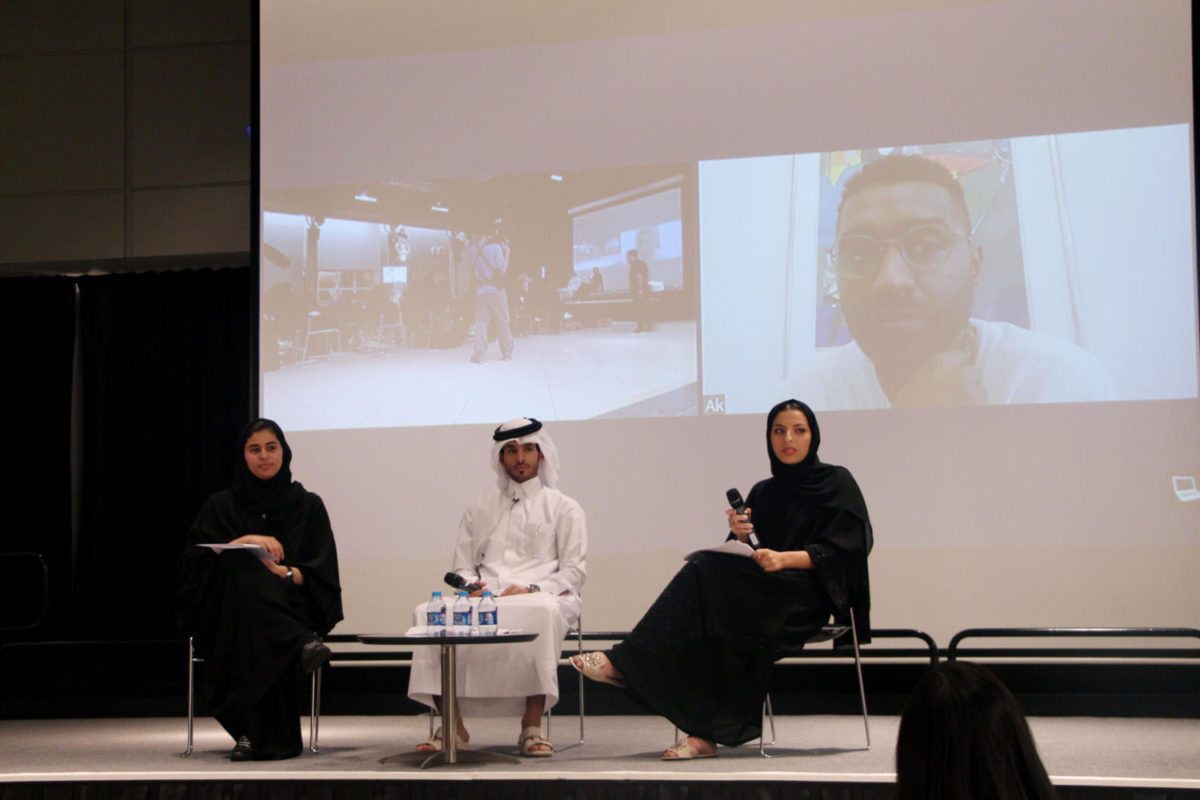 Artists behind iconic political images speak at VCUarts Qatar