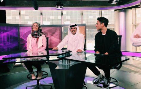 Qatar's Emir Sheikh Tamim visits NU-Q