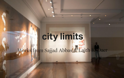 "Rijin Sahakian curated the exhibition, which showcases Abbas and Daer's graffiti and three-dimensional installation pieces. According to Abbas, there is a lack of resources and funding for art in Iraq, so the exhibition in Doha expanded his own ""city's limits."""