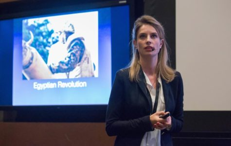 Reporting from conflict zones, Julia Leeb shares journalism tips