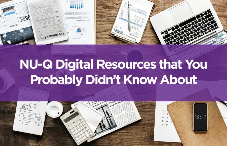 Useful NU-Q digital resources