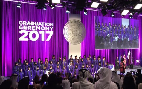 Students raise concerns about changes to seating arrangement for NU-Q graduation