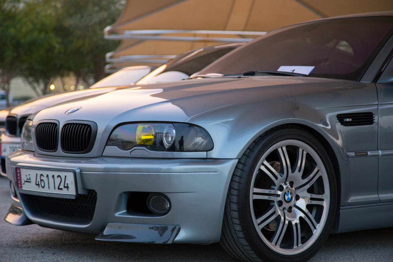 A+panel+of+TAMUQ+judges+gave+each+car+a+score+out+of+10.+The+victory+of+the+the+Car+Meet+and+Greet+automobile+competition+2018+went+to+Khodr%E2%80%99s+BMW+E46+M3.