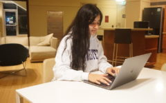 Arya Mainali, a freshman at Northwestern University in Qatar and Staff Reporter at The Daily Q. Photo provided by: Arya Mainali.