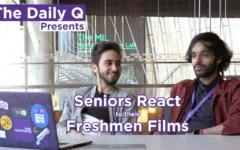 The Daily Q presents: Seniors React to their Freshman Films