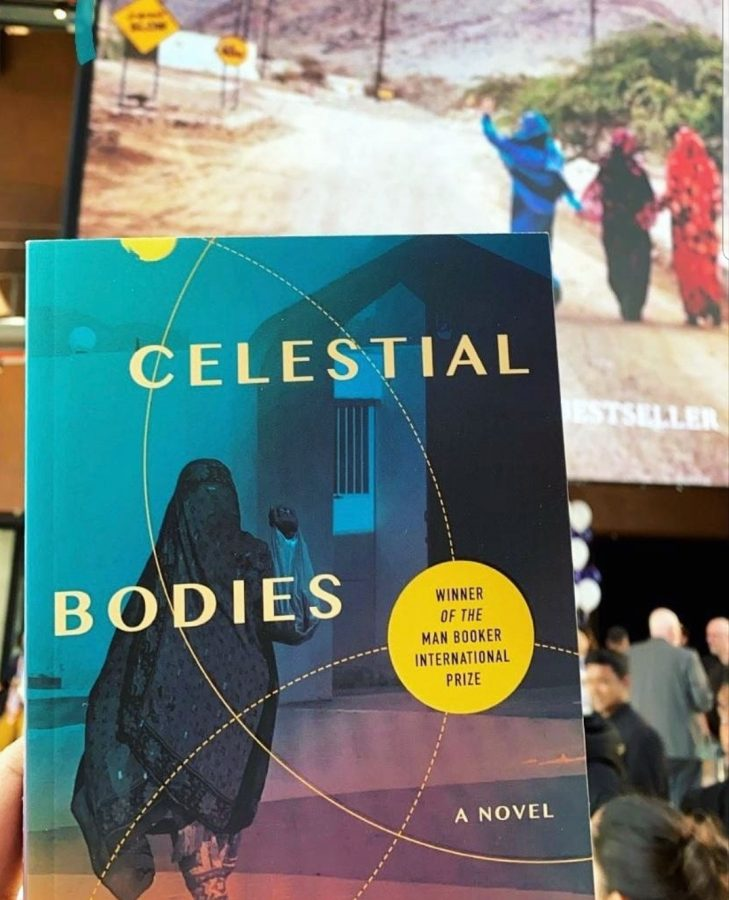 """""""Celestial Bodies"""" selected as the featured book for One Book, One NU-Q"""