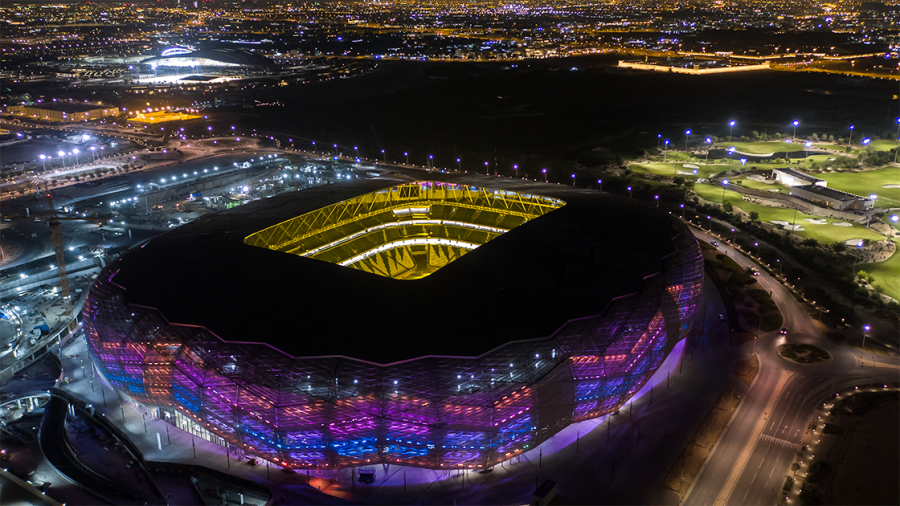 Education City Stadium on the official day of completion, Jun. 15. (Photo/Qatar 2022)