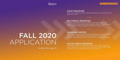 The Daily Q Opens Fall 2020 Applications