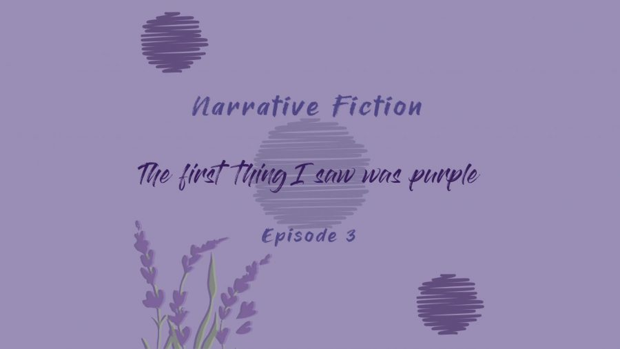 Narrative Fiction: The First Thing I Saw Was Purple