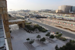 North side facing Sidra